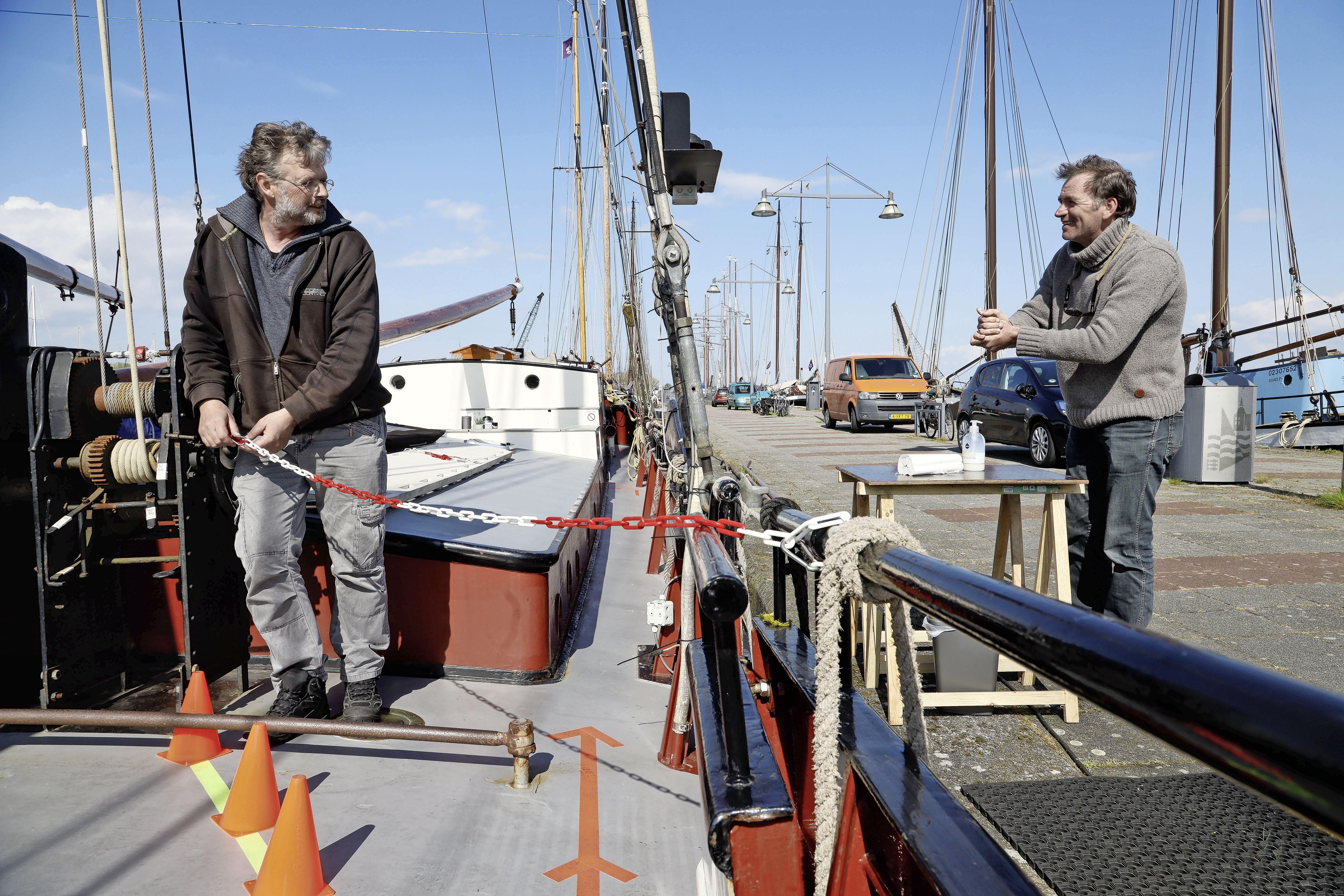 'We varen tenminste weer!' Chartervaart krabbelt langzaam op, maar is er zeker nog niet
