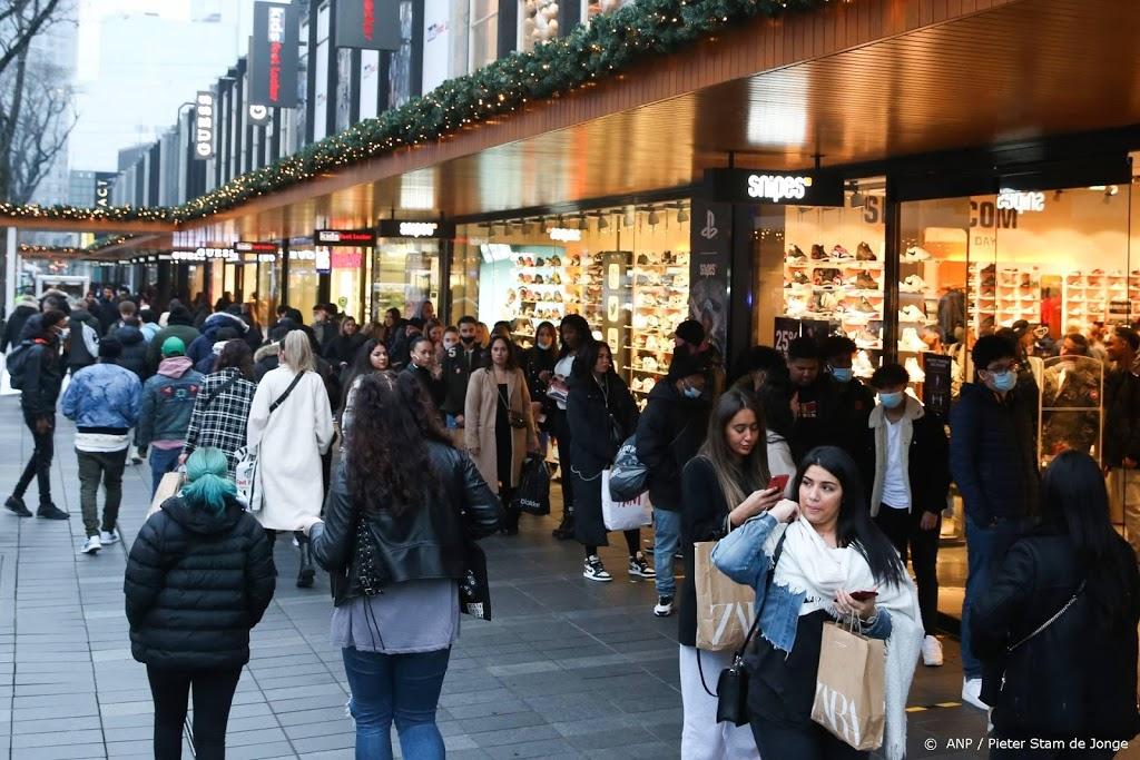 Alle winkels in centrum Rotterdam dicht vanwege drukte