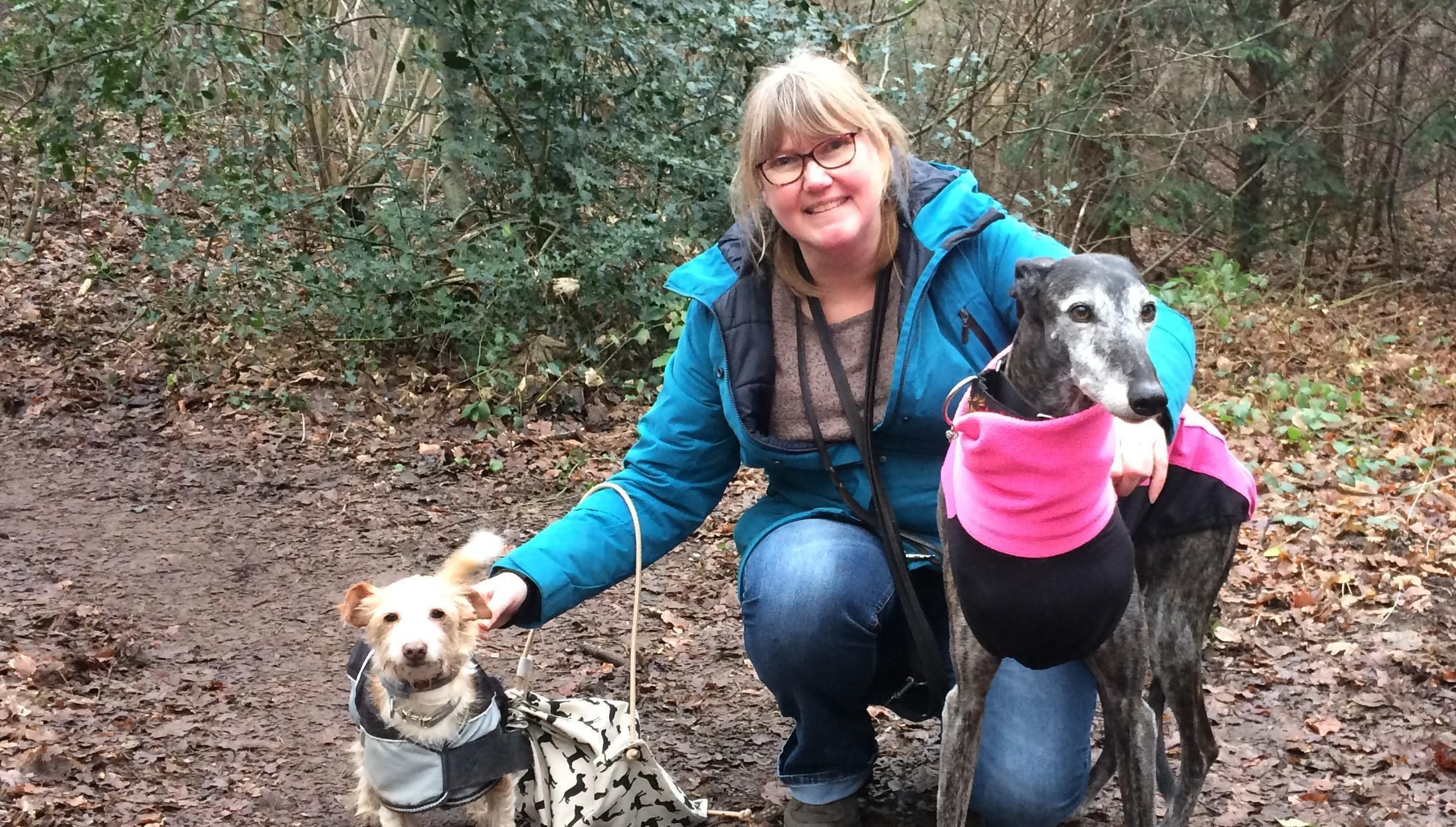 Katie en Callum houden Natasja op de been: 'Met een hond moet je eruit en loop je nooit alleen'