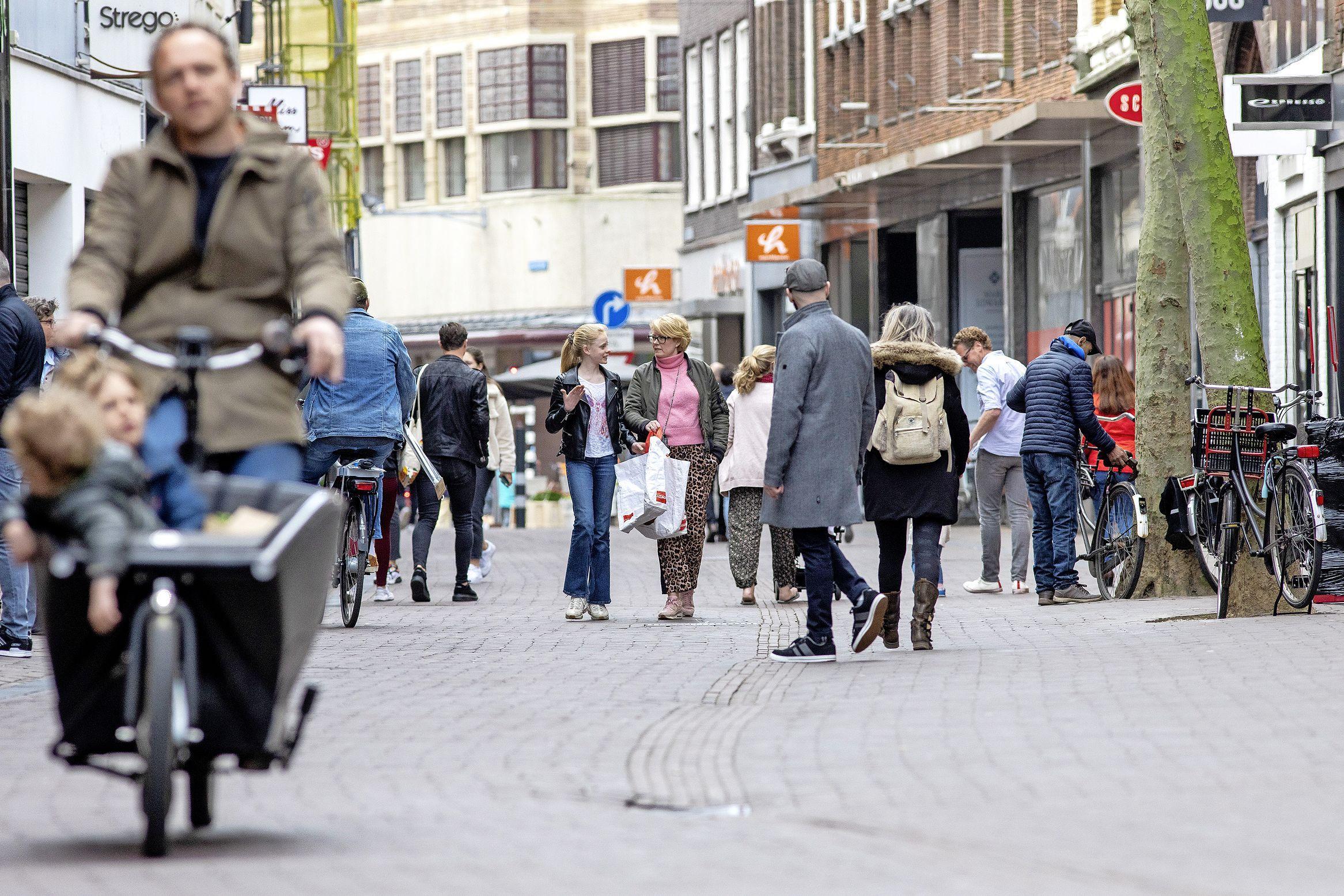 Winkelen in alle rust dankzij drukteschema van Haarlem Marketing
