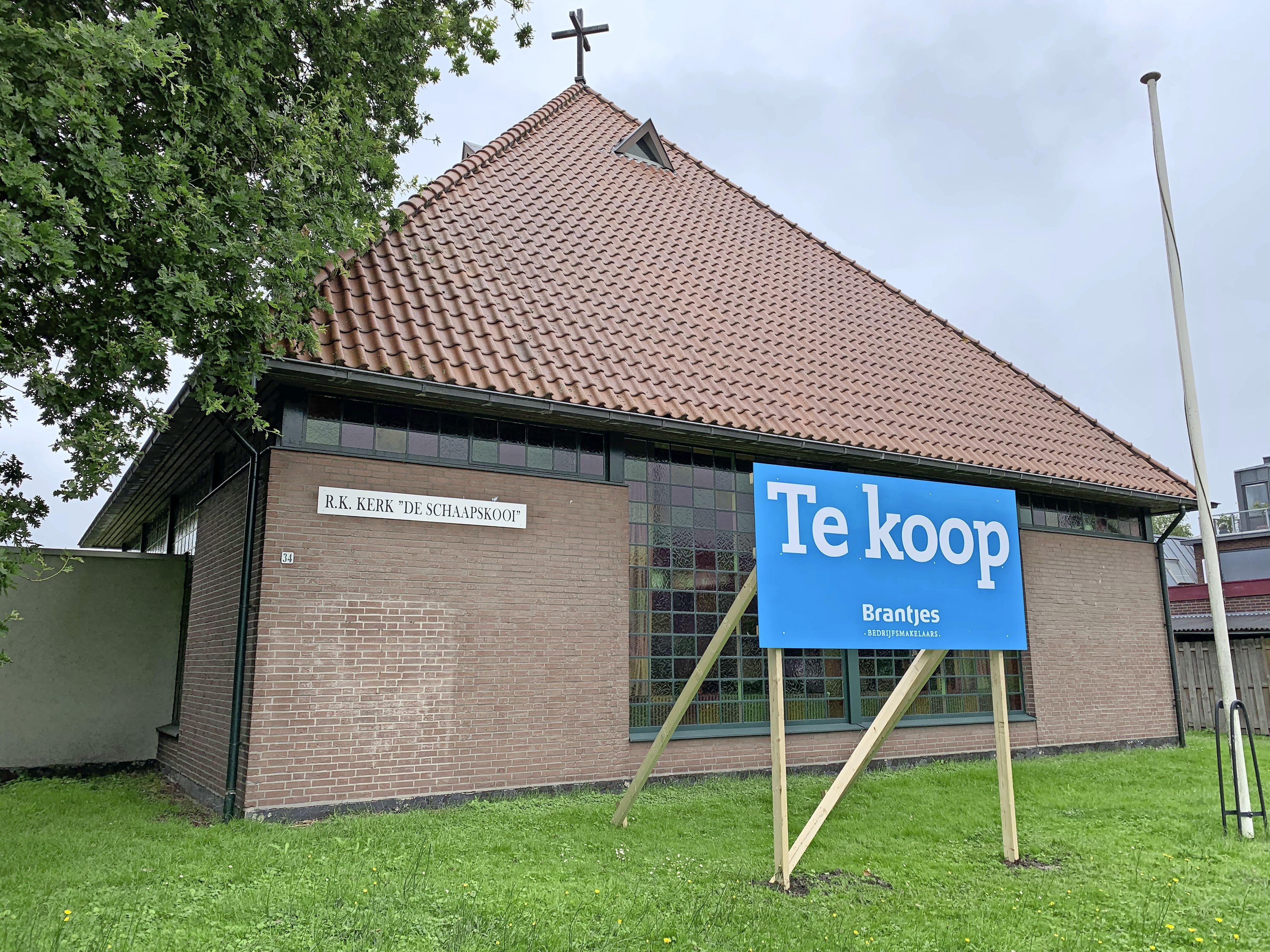 Kerk De Schaapskooi is op de markt gezet, katholieken kunnen na de verkoop niet meer terecht in Landsmeer