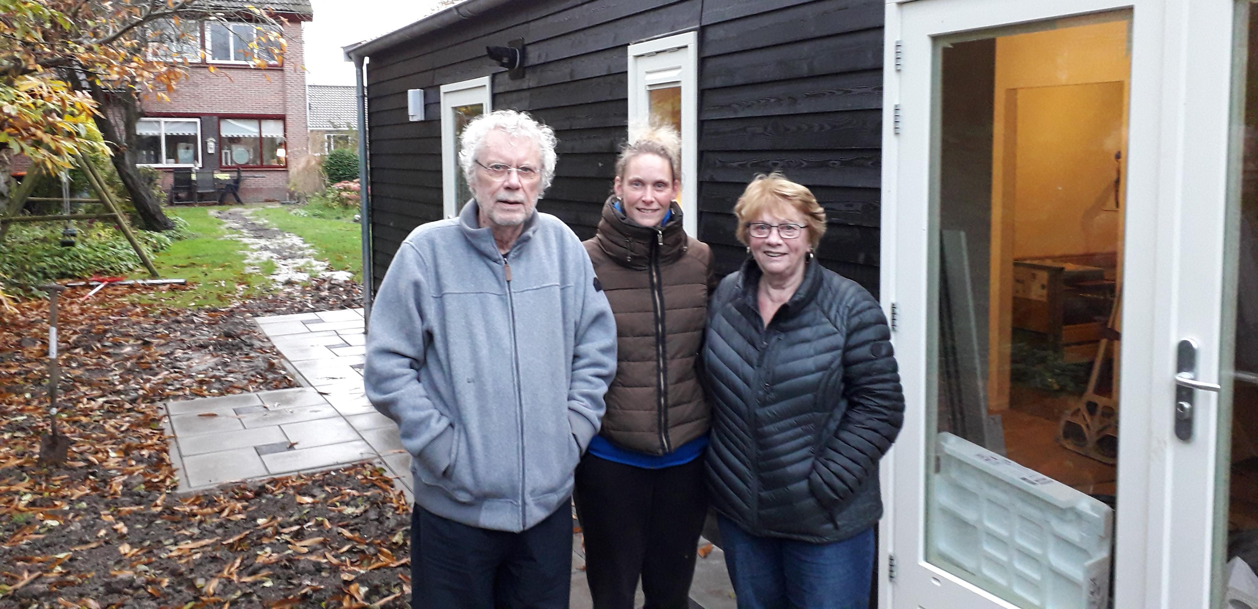 Familie Weinberg is dolblij met extra huis voor ouders in de achtertuin