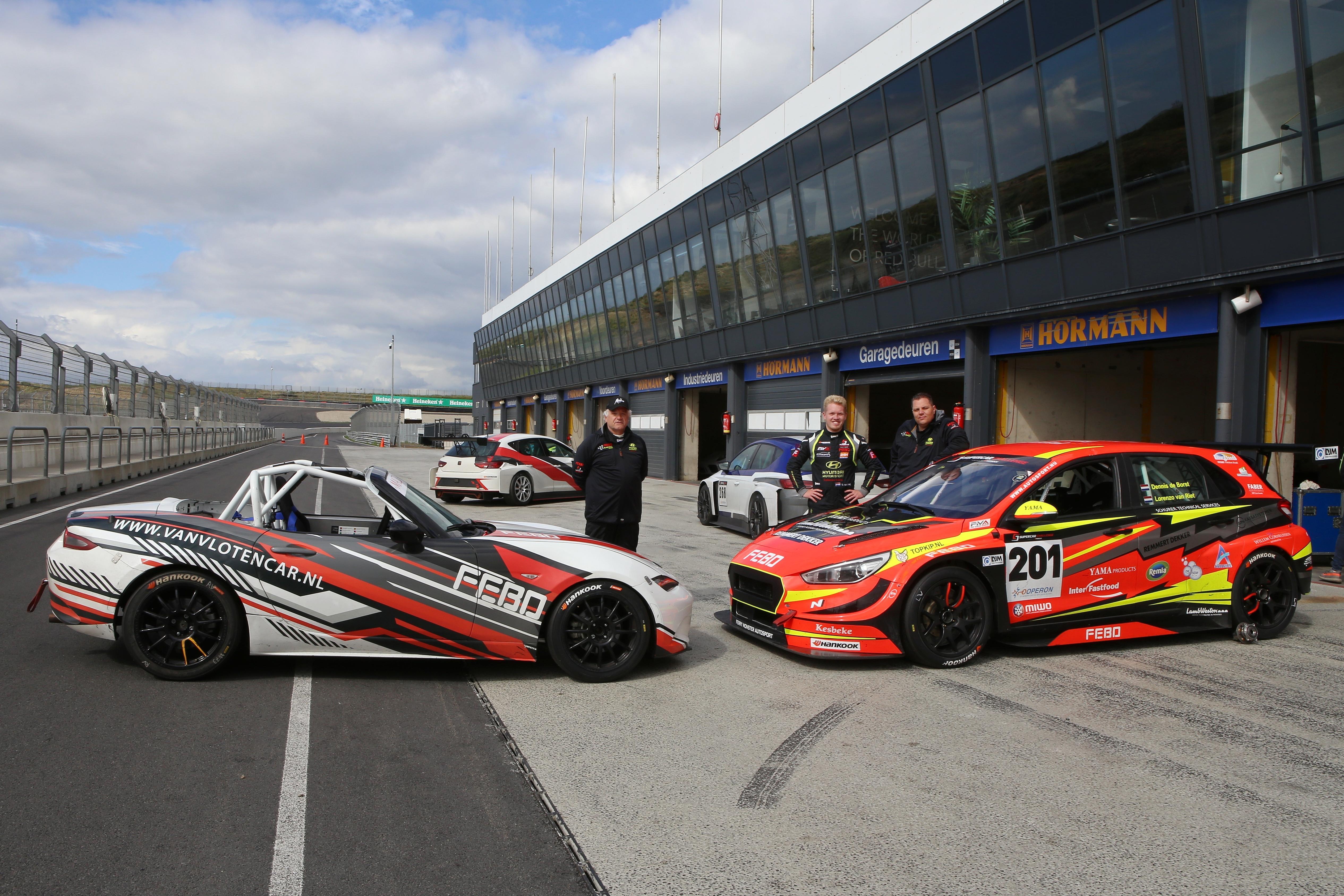 20-jarige Lorenzo van Riet gaat met zijn concurrent van vorig jaar voor de titel in de Supercar Challenge