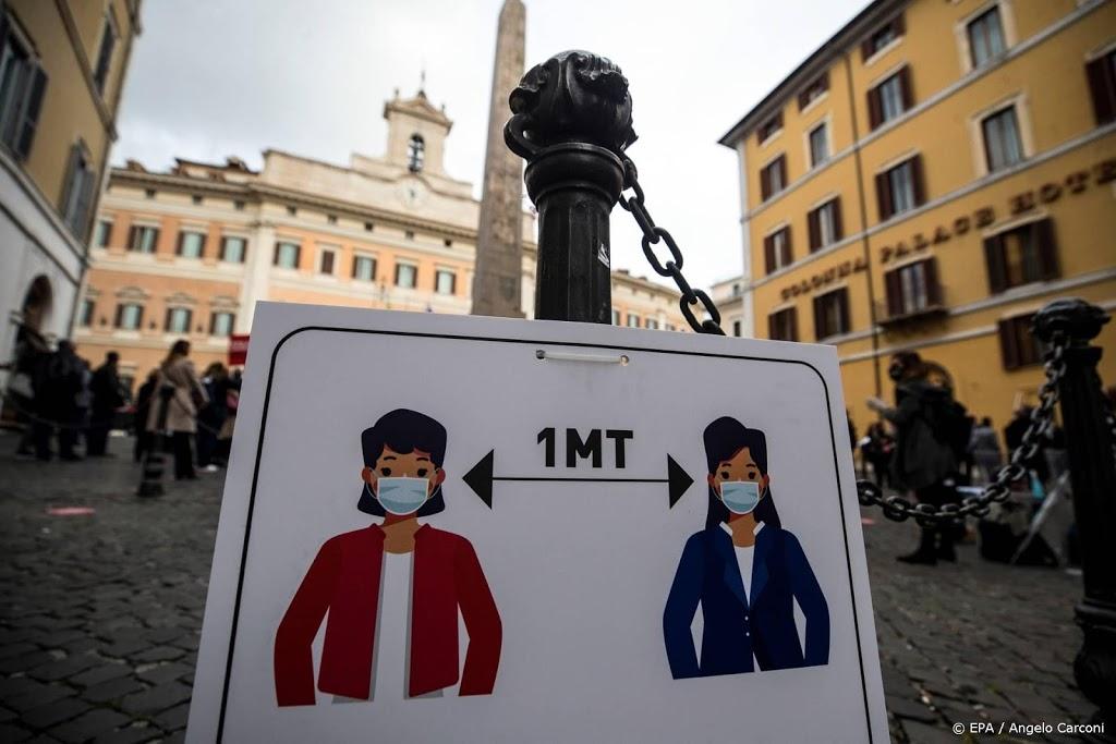 Italië telt recordaantal nieuwe coronabesmettingen