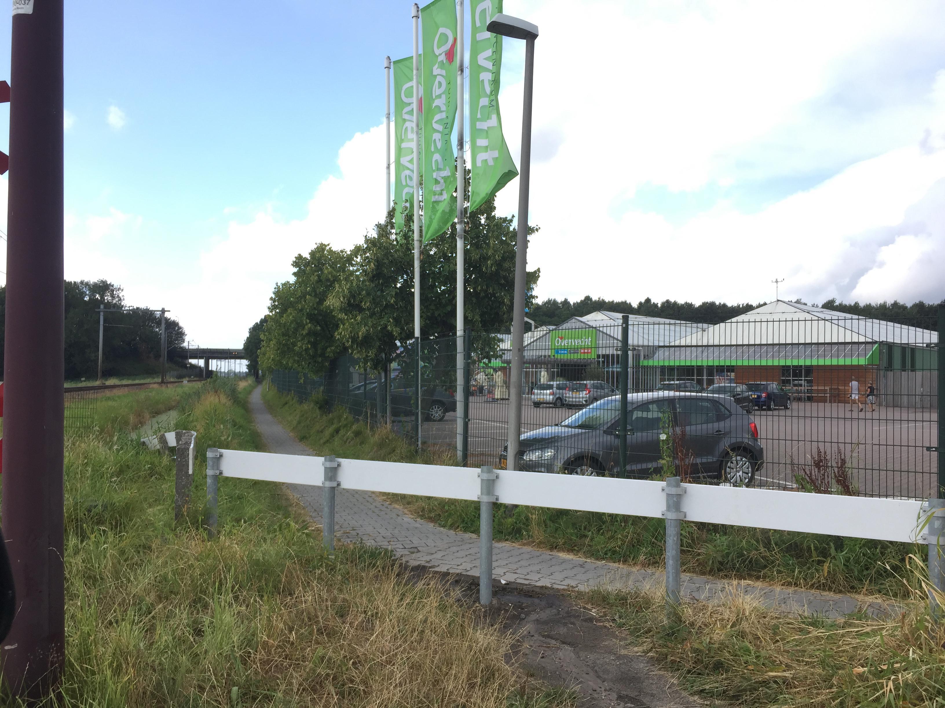 Overleg over pad McDonald's Hoorn