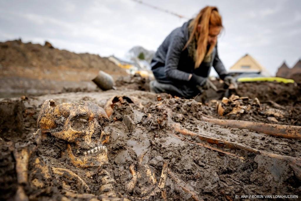 Gevonden skeletten Vianen liggen in oud massagraf