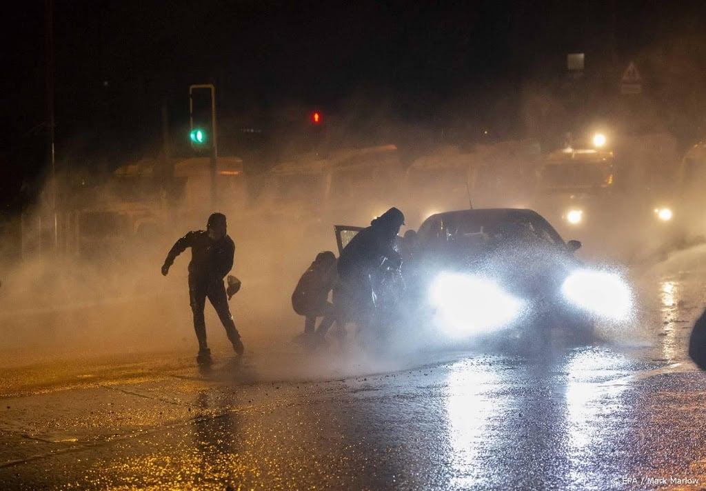 Opnieuw onrust in Belfast, ondanks overlijden prins Philip