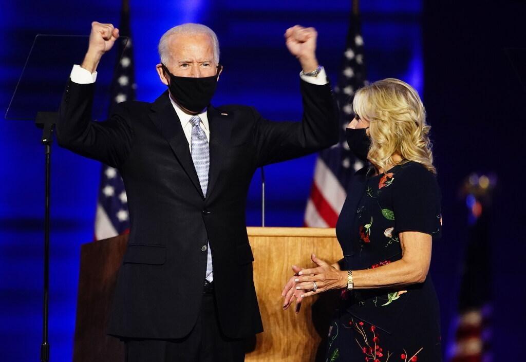 Biden wil als president 'verenigen in plaats van verdelen' [video]