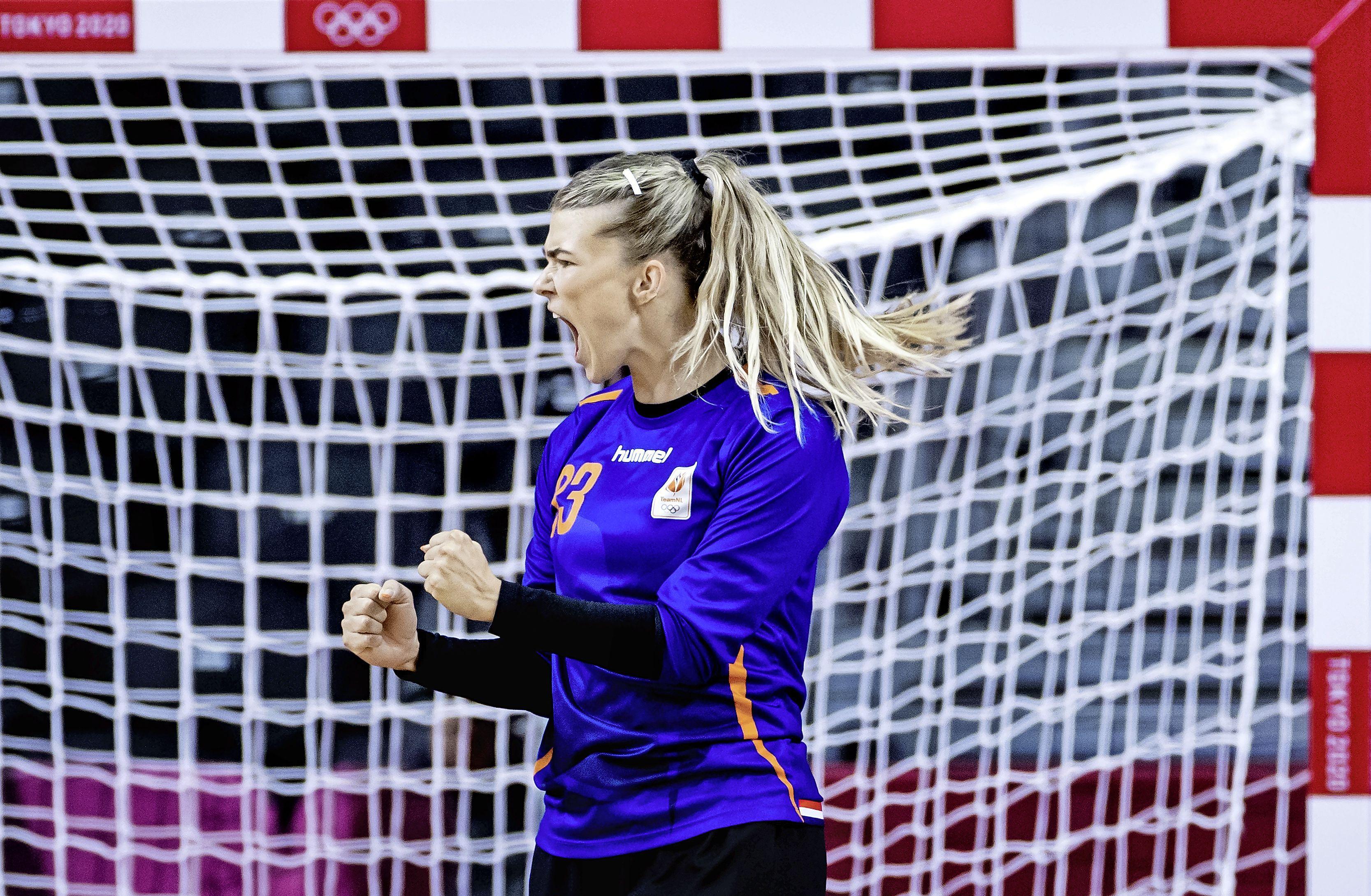 Handbalsters winnen in doelpuntrijk duel van Zuid-Korea: 43-36