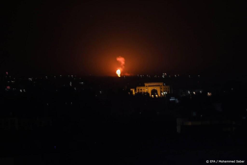 Israël voert luchtaanval uit na raketlancering vanuit Gazastrook