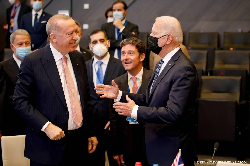Biden en Erdogan eens over Turkse rol in Afghanistan