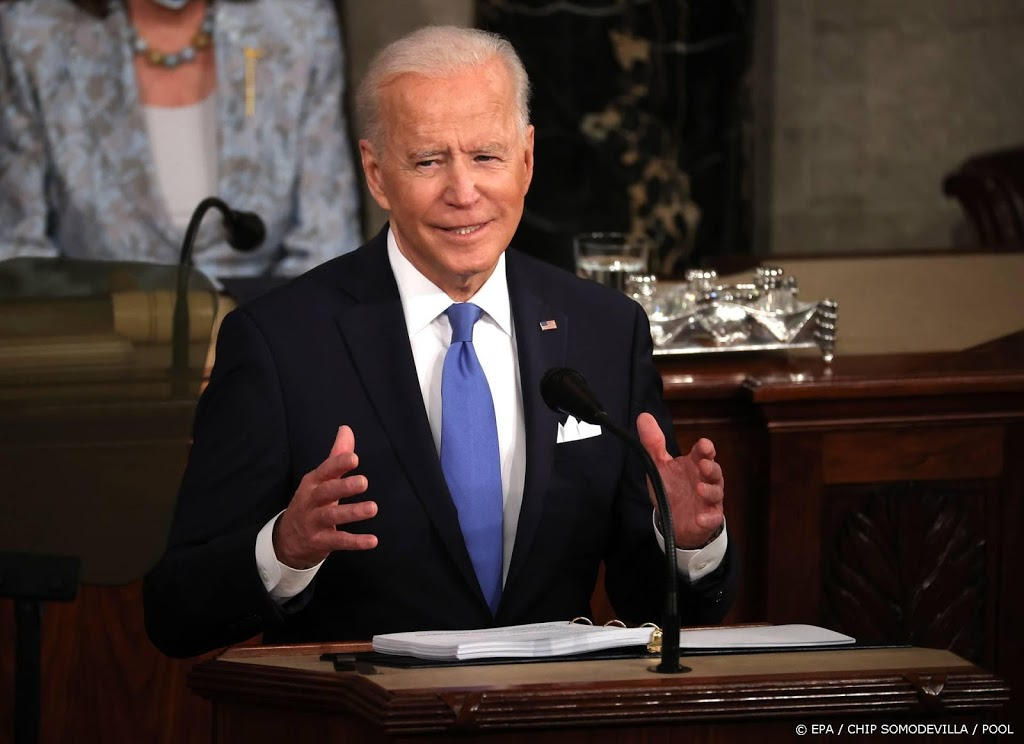 Biden: Amerika is weer in beweging