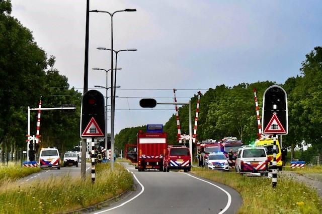 Treinen tussen Alphen aan den Rijn en Leiden Lammenschans rijden weer na aanrijding [update]