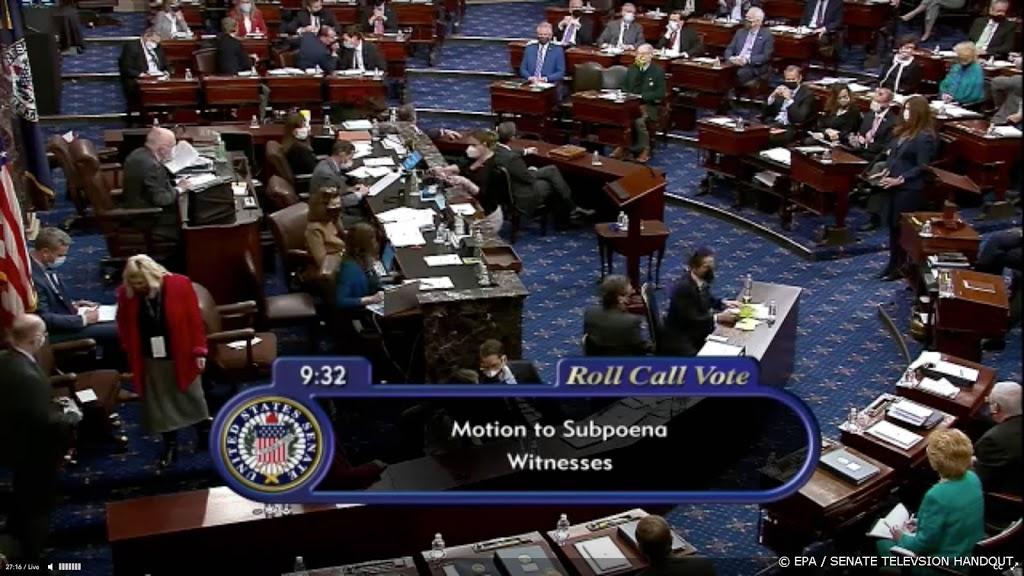 Vrijspraak voor Trump in historisch tweede proces in Senaat