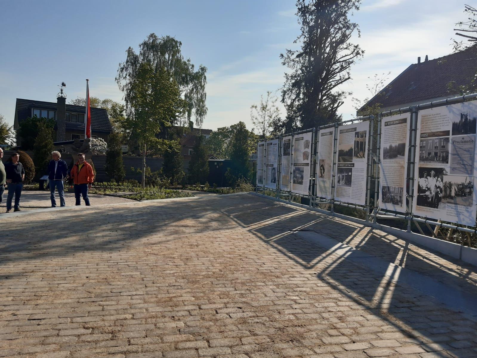 Eerste herdenkingsmonument WO II van ons land, dat in Loosdrecht, nu vol herinneringen aan oorlog en bevrijding