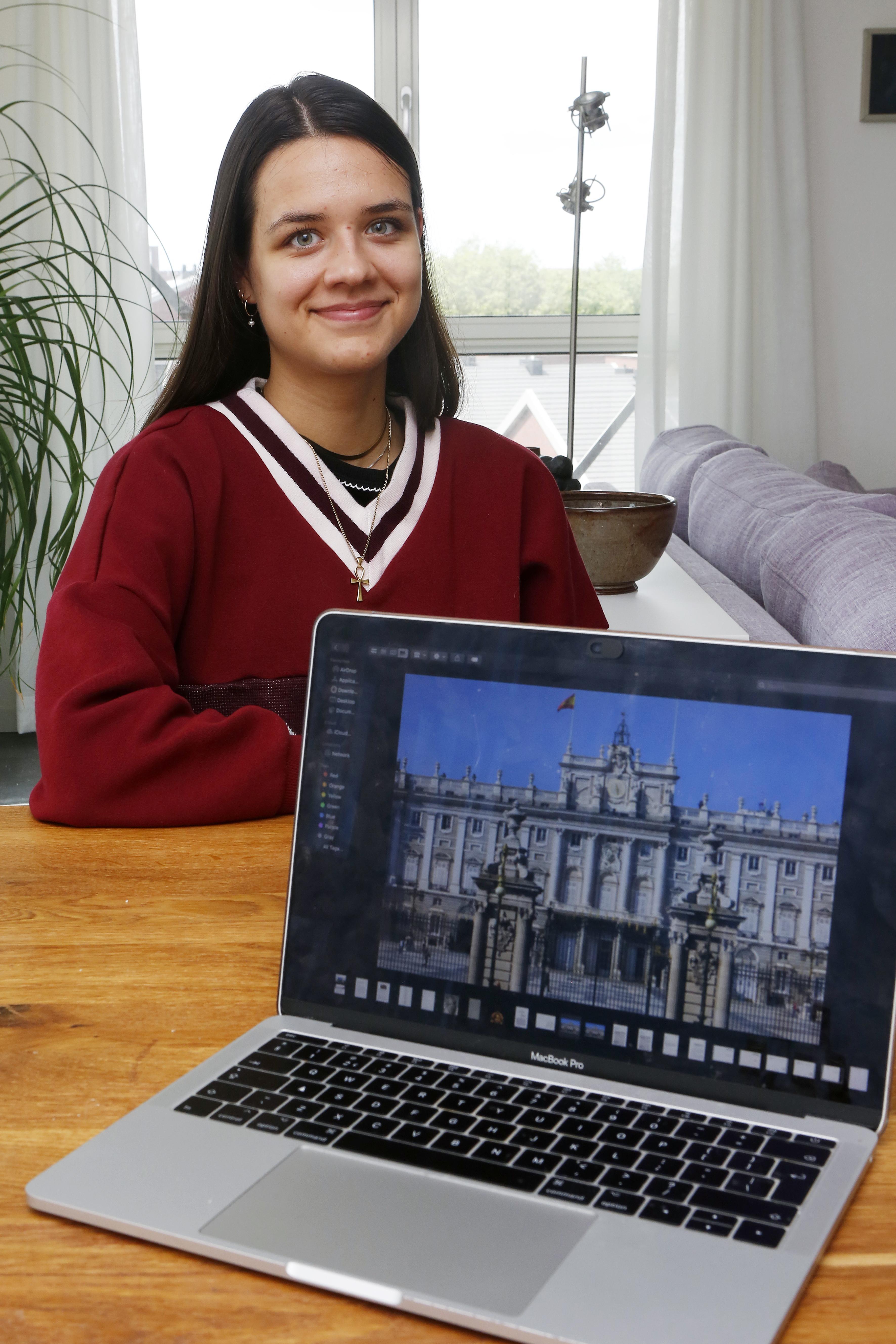 Mathilde Drost Koenen uit Hilversum over buitenlandstudie: 'Niet alleen leuk, maar ook relevant voor mijn toekomst'