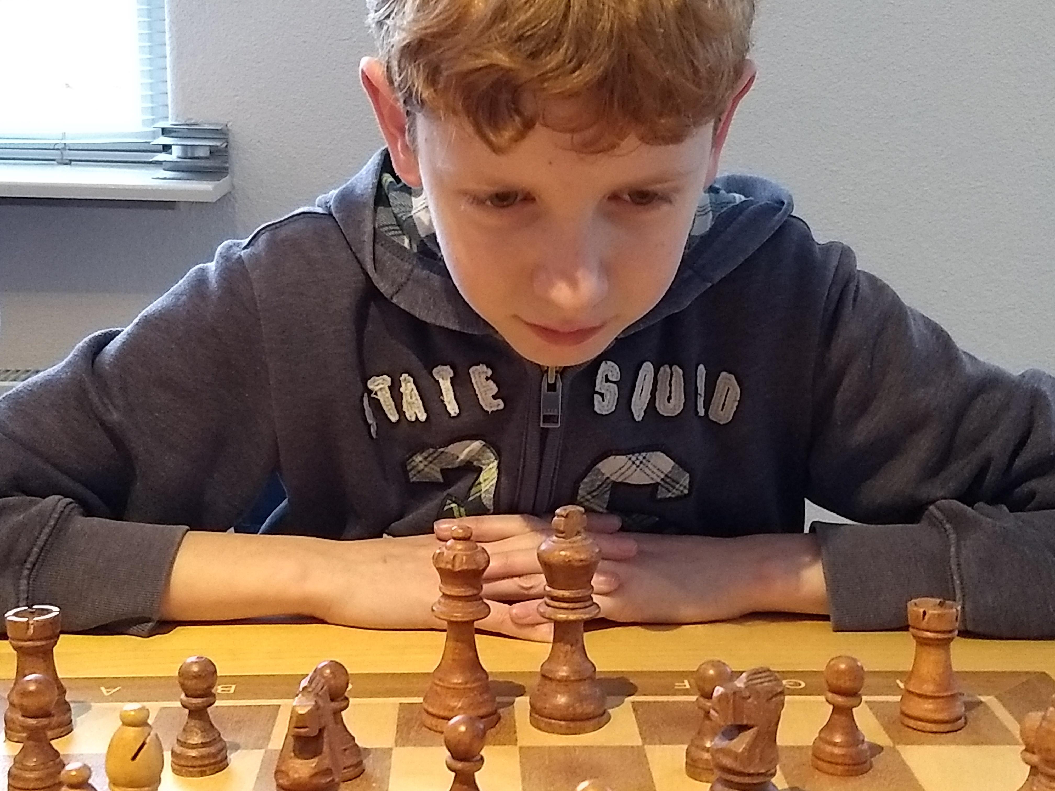 Dertienjarige schaker is kritisch op zichzelf