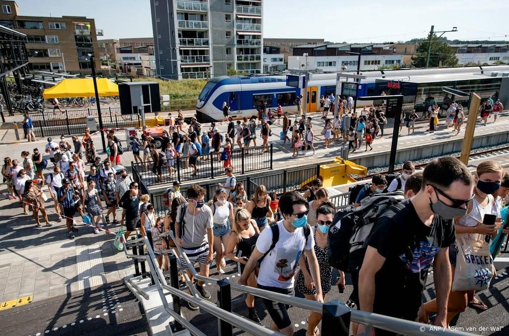NS tevreden over treinverkeer Zandvoort, onderzoekt spreiding