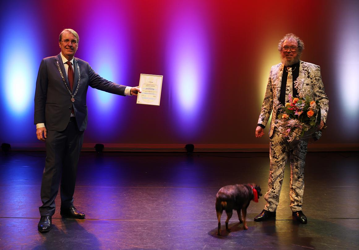 Gouden Greep voor Jack Woestenberg uit Oostzaan