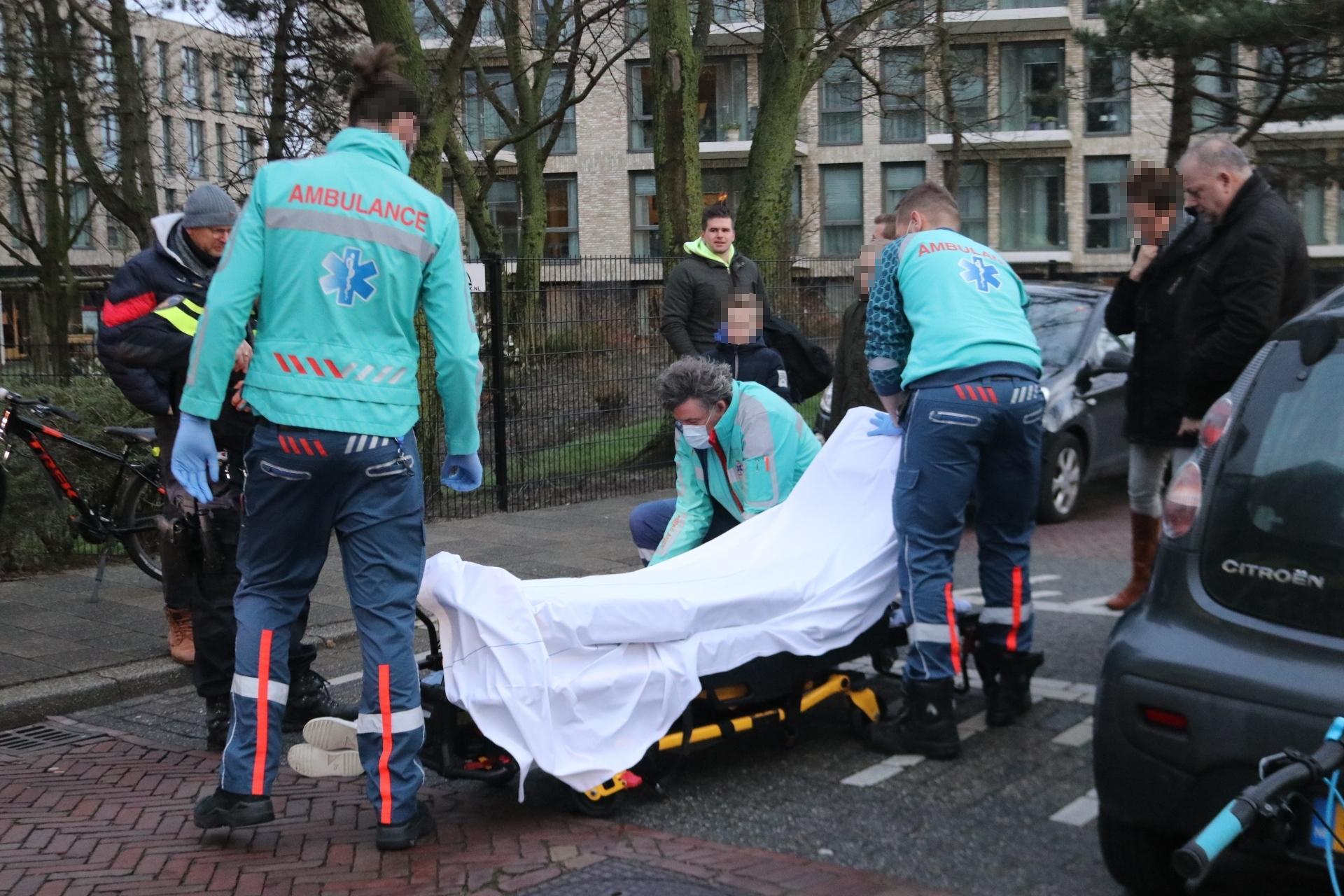 Fietster gewond na aanrijding met kind in Katwijk