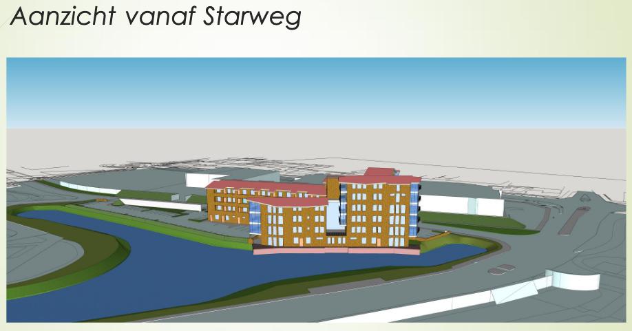 Bouwplan Starweg in Heemskerk hoger dan gedacht: 5 etages hoog