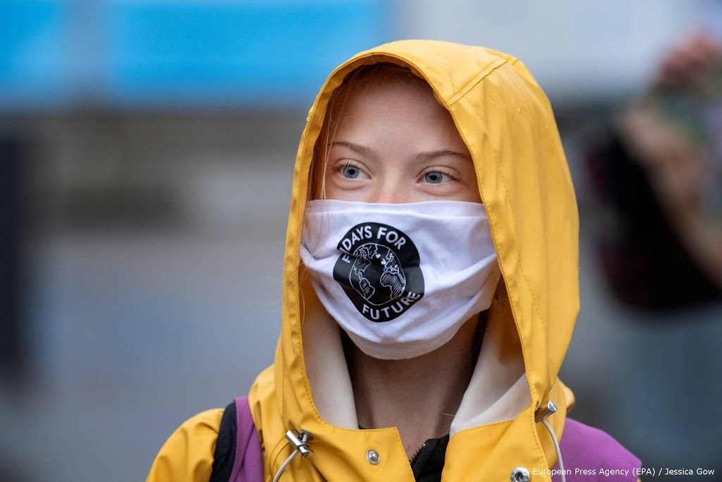 Greta Thunberg komt op Zweedse postzegel