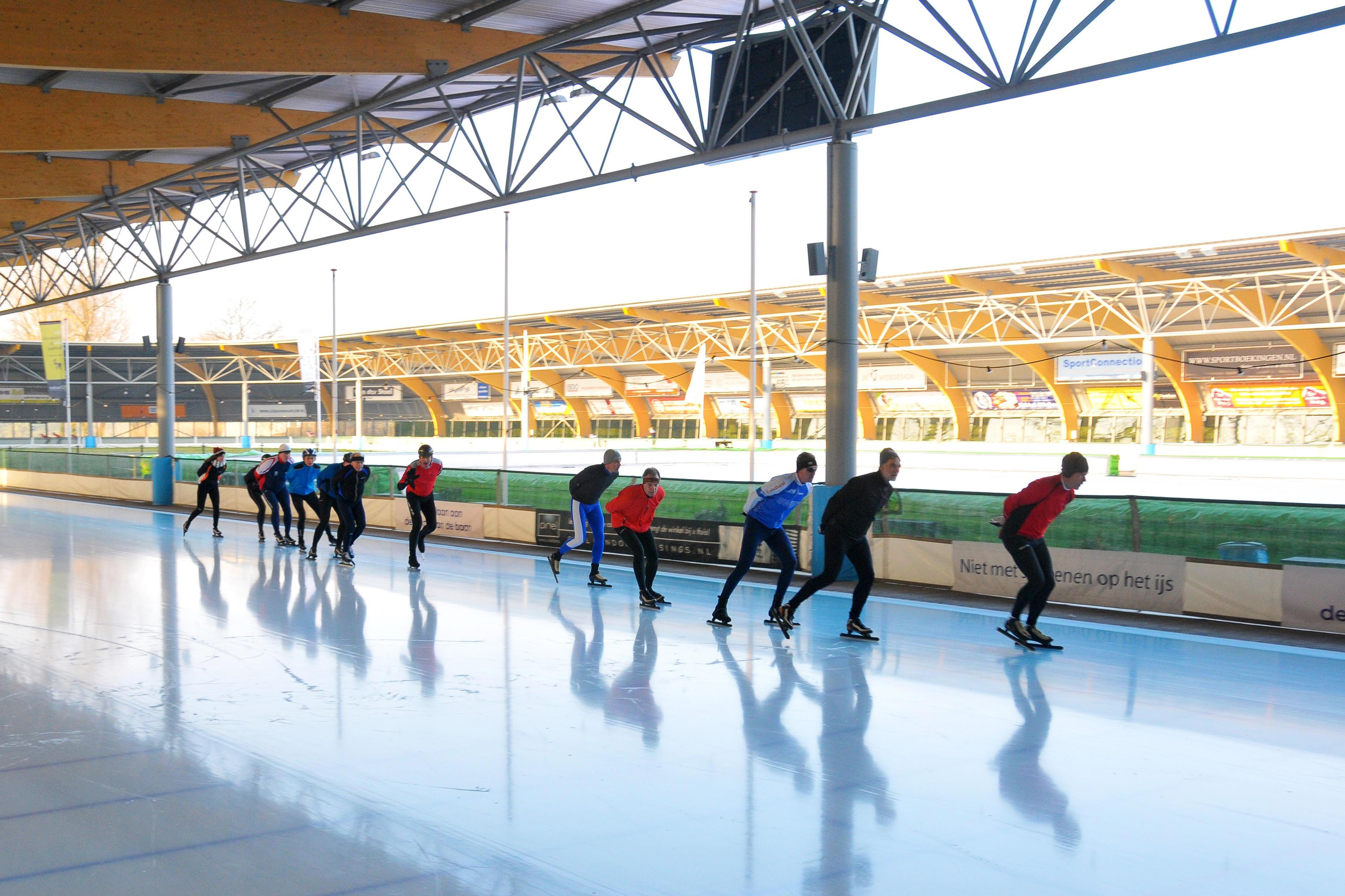 Haarlemse ijsbaan gaat komende zaterdag open: reserveren verplicht