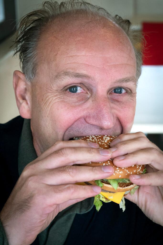 Na de eerste Big Mac is hij verkocht; Robert de Gruyter is na 25 jaar franchisenemer van het jaar