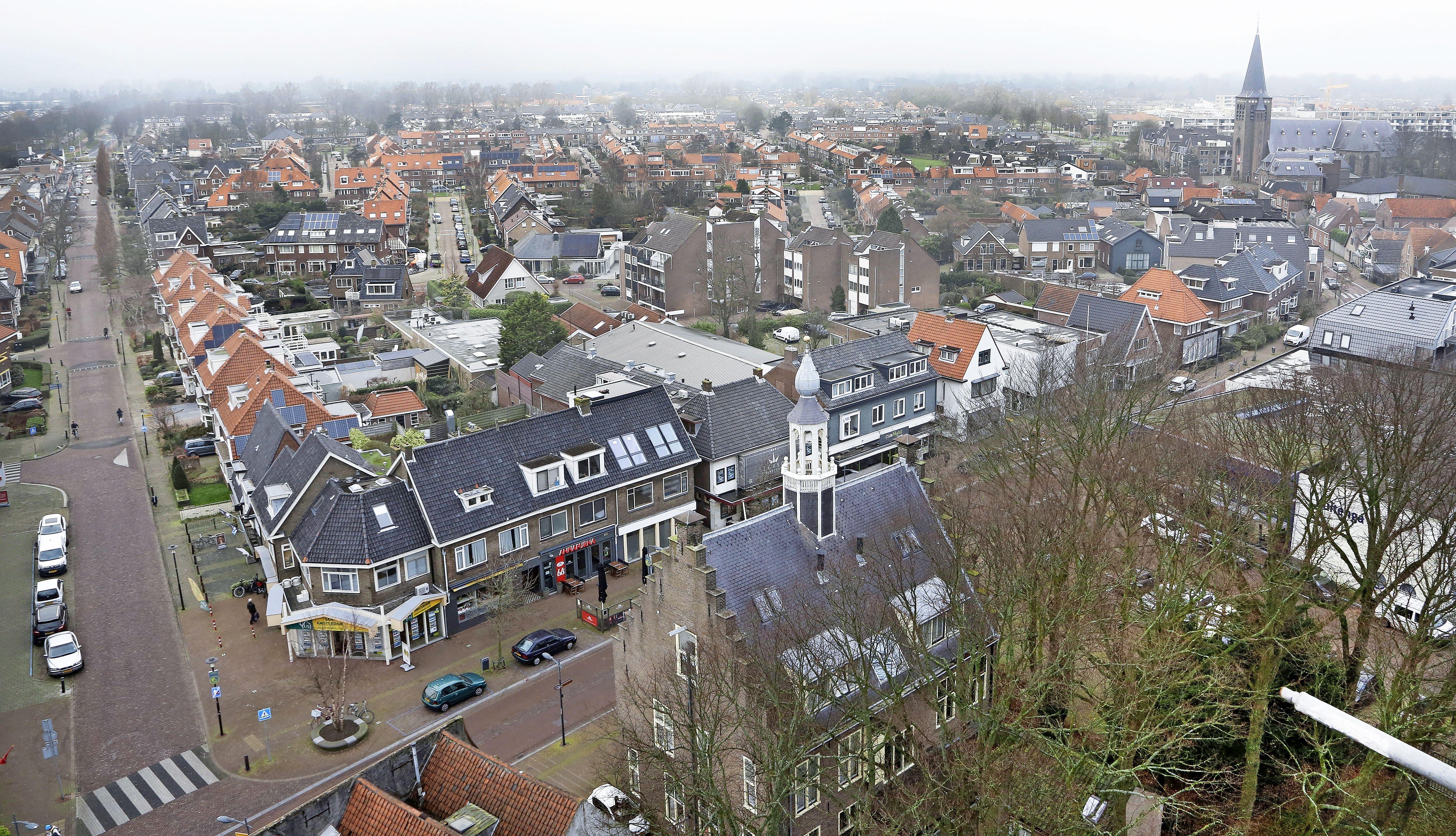 Proef met afsluiting Dorpsstraat in Castricum in september en oktober