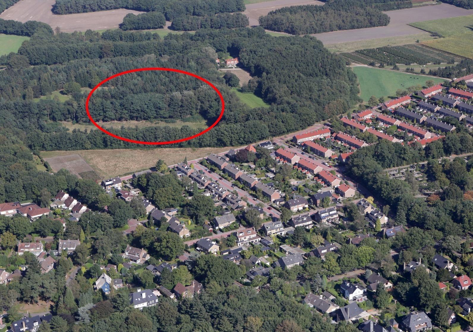 Vragen over bouwplan'torenflat' in GNR-gebied vlakbij villa 't Hooge Nest op grens van Huizen en Naarden