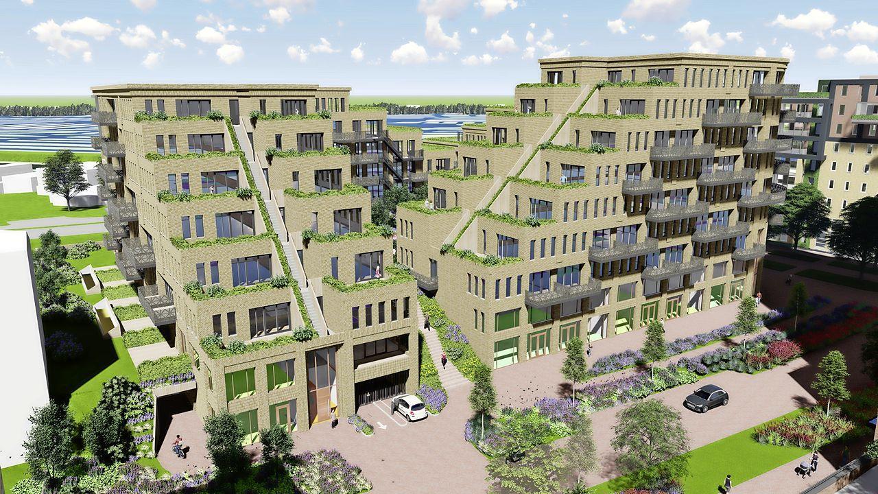 De 'Maya-tempel' van Heerhugowaard komt dichterbij. Groot woonproject in Stationsgebied met 165 appartementen