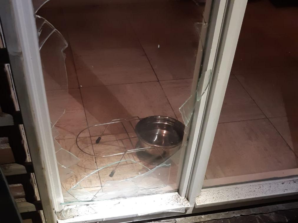 Veel schade aan woning door vuurwerkbom in Hillegom