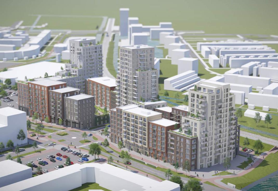 De nieuwe Kooimanweg: Purmerend wil zestig meter de lucht in om bijna 500 appartementen te bouwen