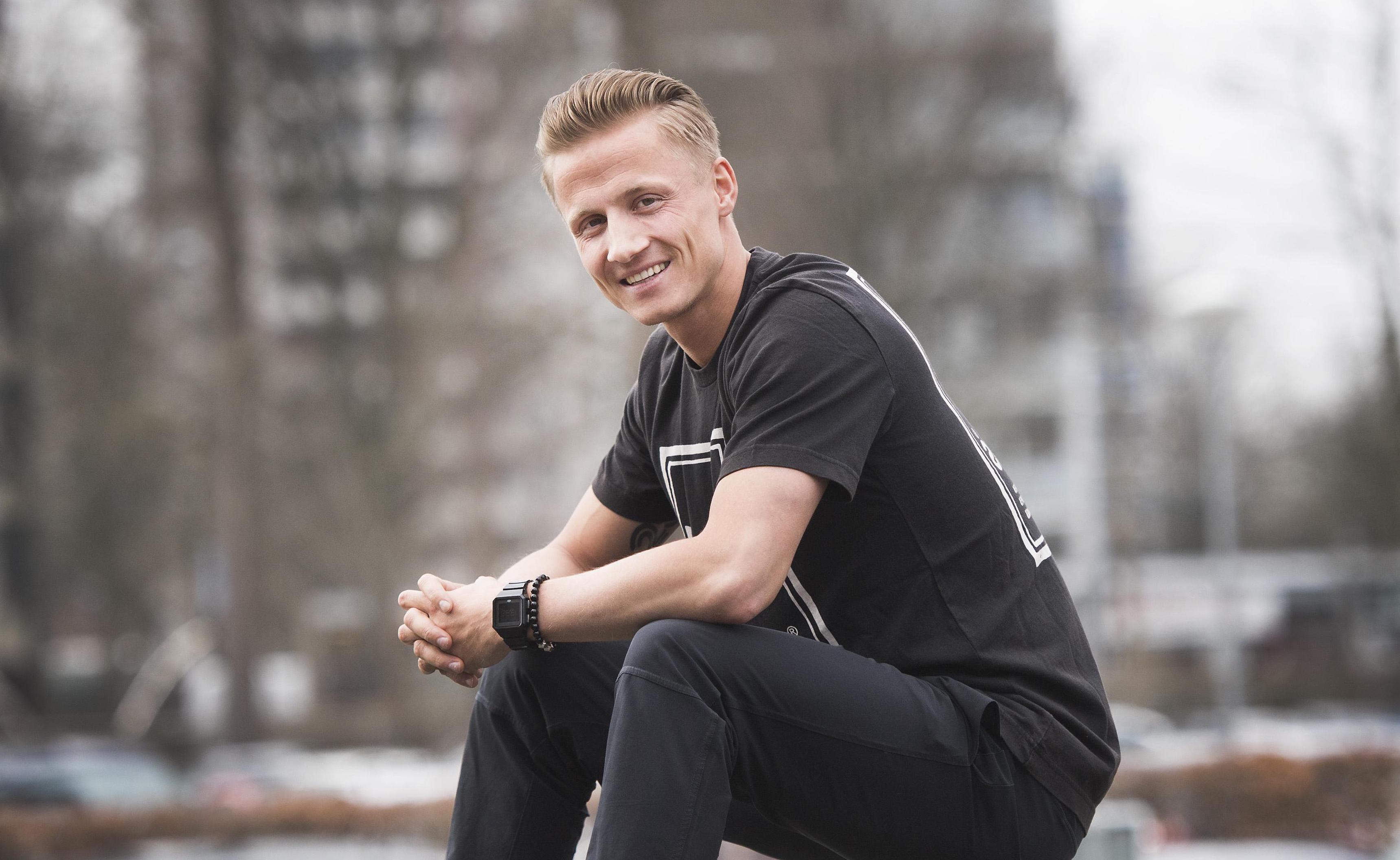 Mark Smit van Hoofddorp Pioniers na debuut in nationale honkbalploeg: 'Dit is echt gaaf'