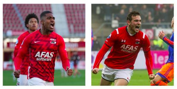 Myron Boadu treedt bij AZ in de voetsporen van Vincent Janssen, maar is nog niet tevreden over zijn aantal doelpunten