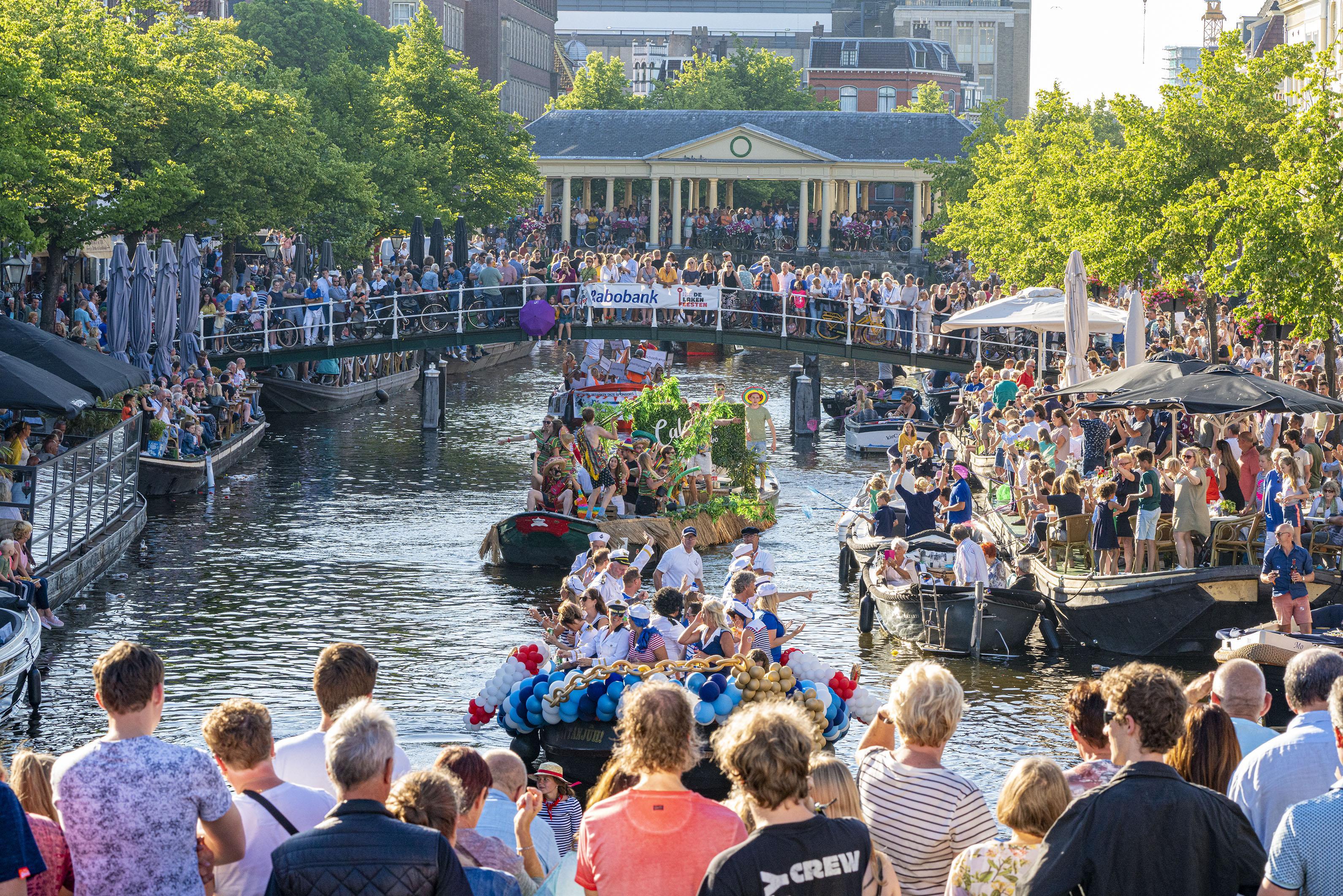 Leiden stelt zich in op invasie van toeristen