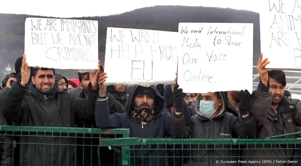 EU bezorgd over omstandigheden dakloze migranten in Bosnië