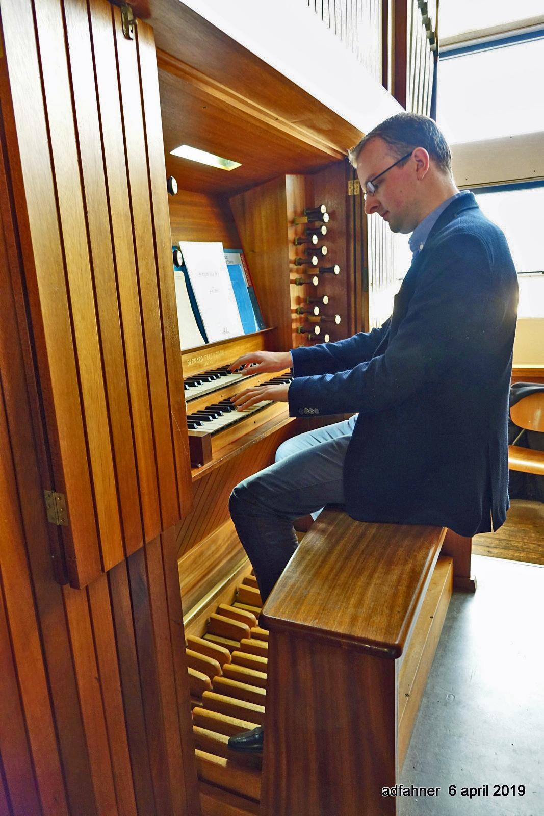Piet Post schreef orgelmuziek die in Beverwijkse kerk is te horen