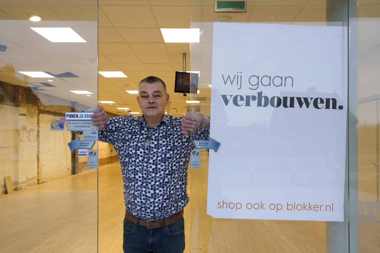 Age Hoekstra verantwoordelijk voor de make-over van Blokker in Callantsoog: 'Het standaardrepertoire aangevuld met souvenirs, parasols en badlakens'
