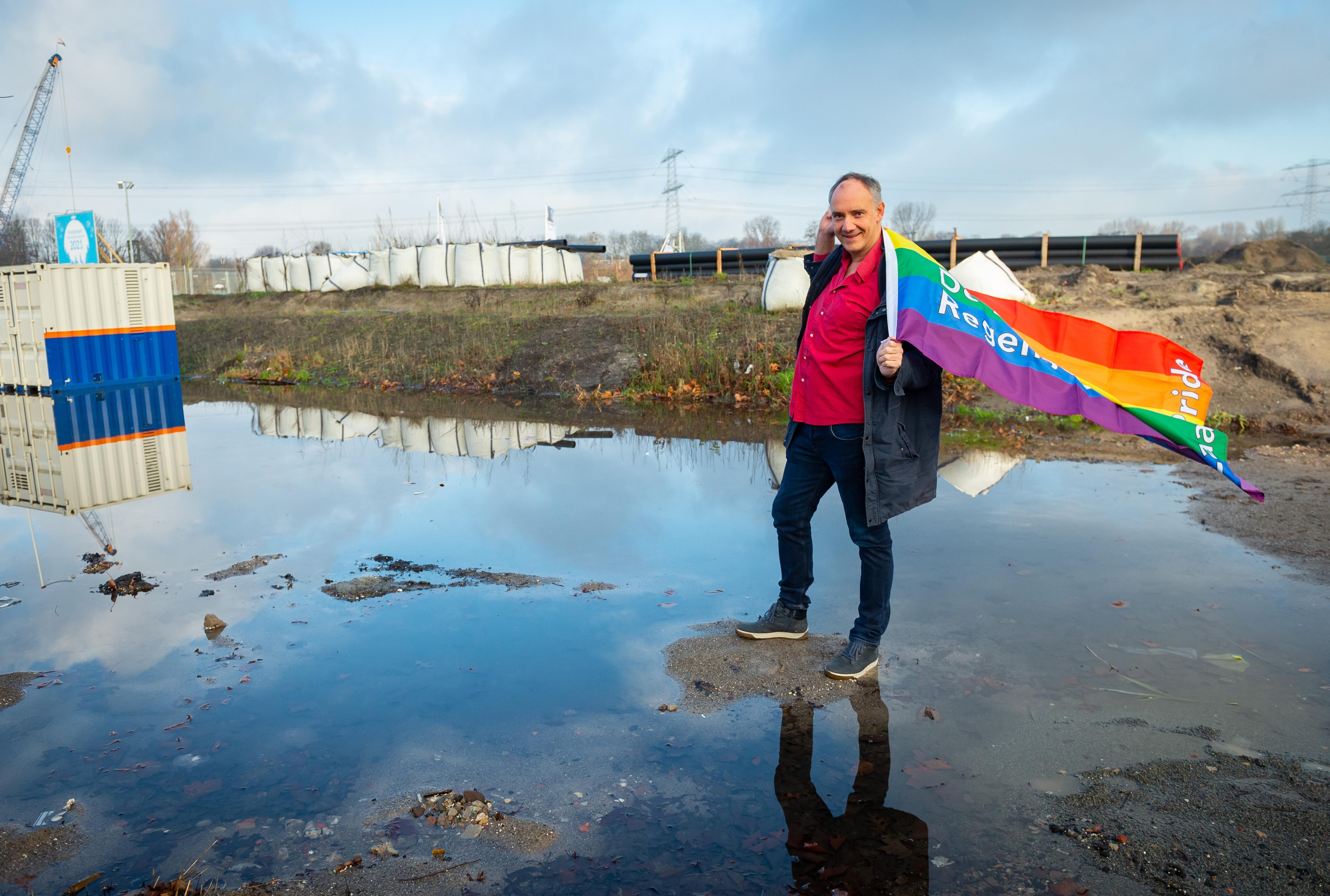 Zaans statement: na Hobo/homorel nu complete regenboogwijk: 'Mooi dat er op deze manier iets goeds komt uit een negatieve discussie'
