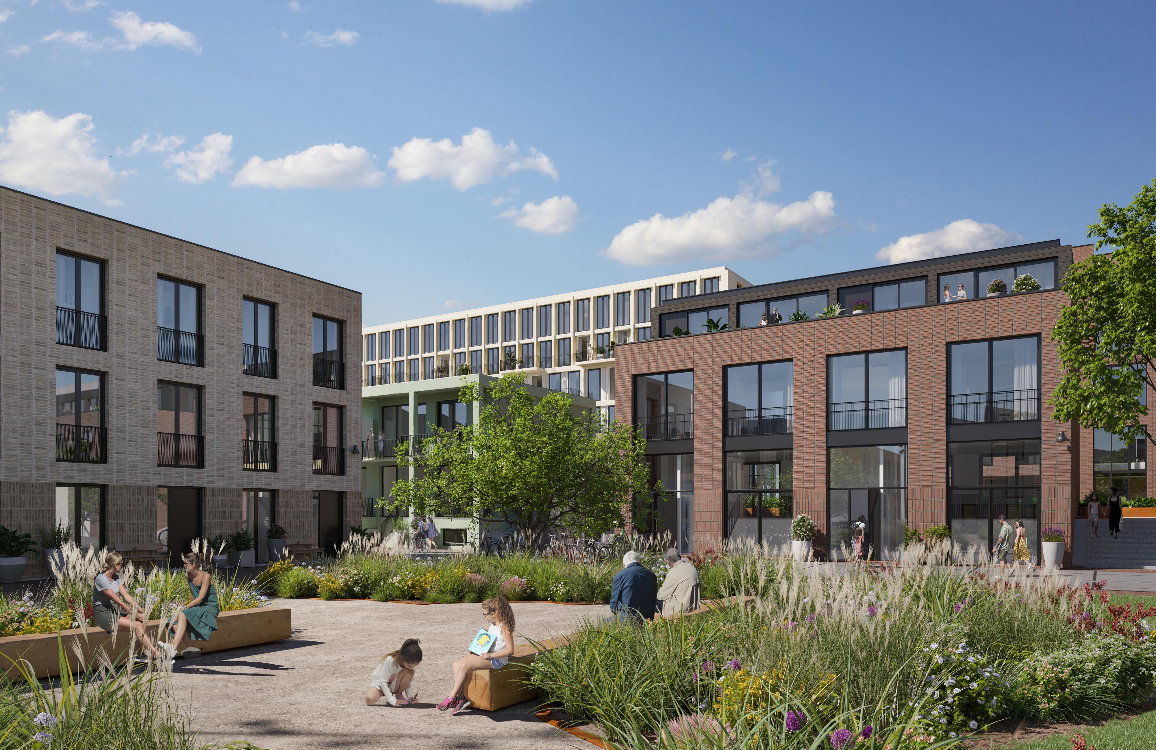Verkoop nieuwe Hoornse wijk Holenkwartier start met 36 loftwoningen
