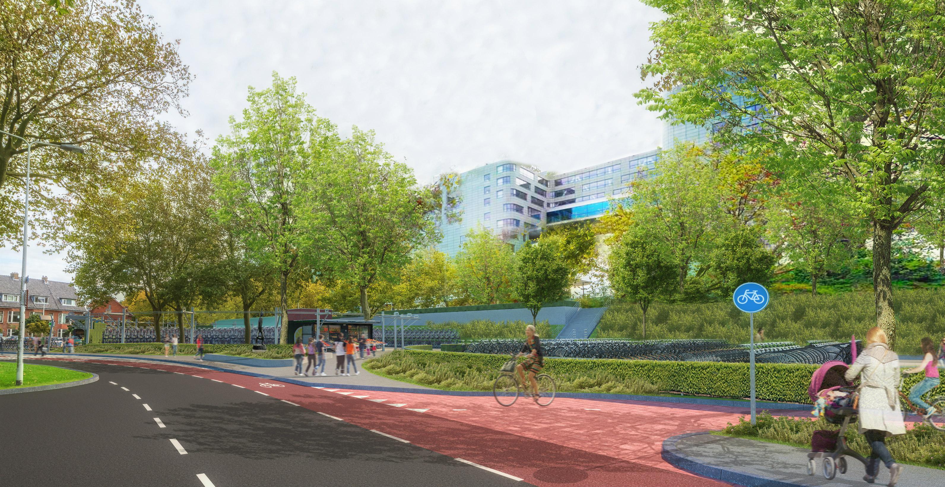 Buurtbewoners buigen zich over bewerkte vernieuwingsplannen voor station Lammenschans