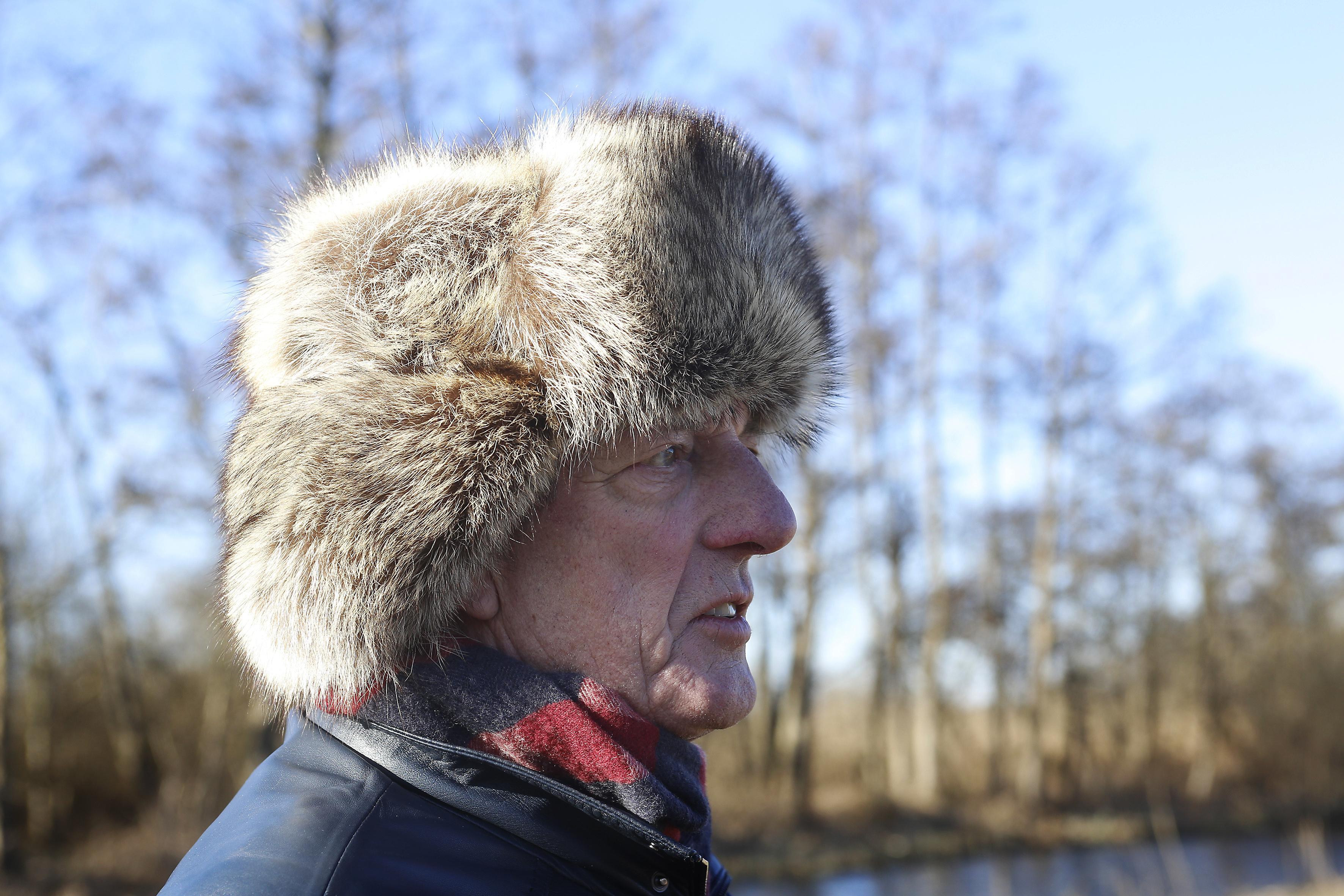 'Twee weken vorst met súperijs', aldus de prognose van Kortenhoefs weeramateur Jos Werkhoven