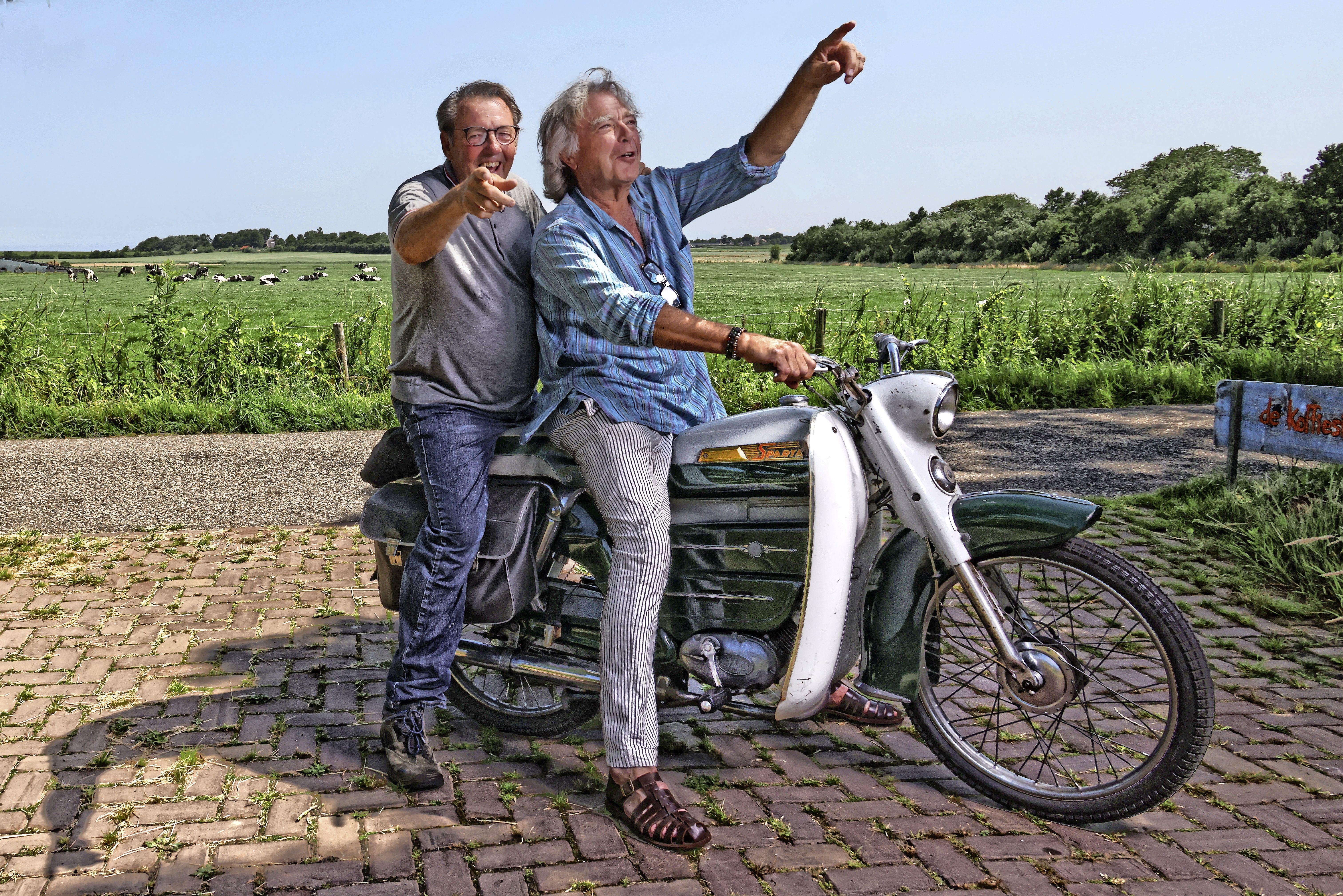 Fotografen Kenneth Stamp en Govert de Roos willen in de zomer van 2022 een fotofestival organiseren op Wieringen. 'Niks uithoek, juist leuk'