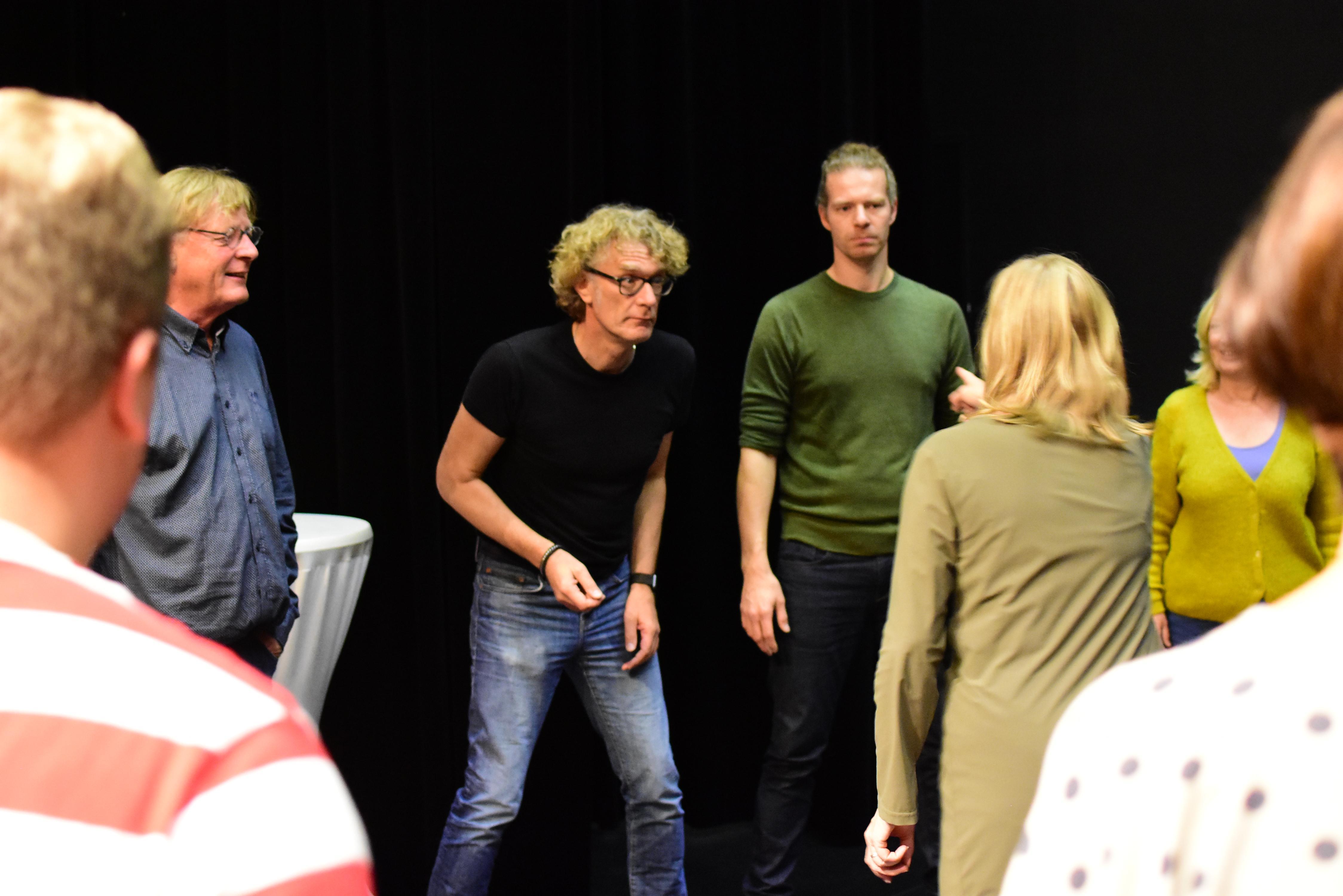 Deo et Arti combineert eenakter van Pinter met improvisatietheater