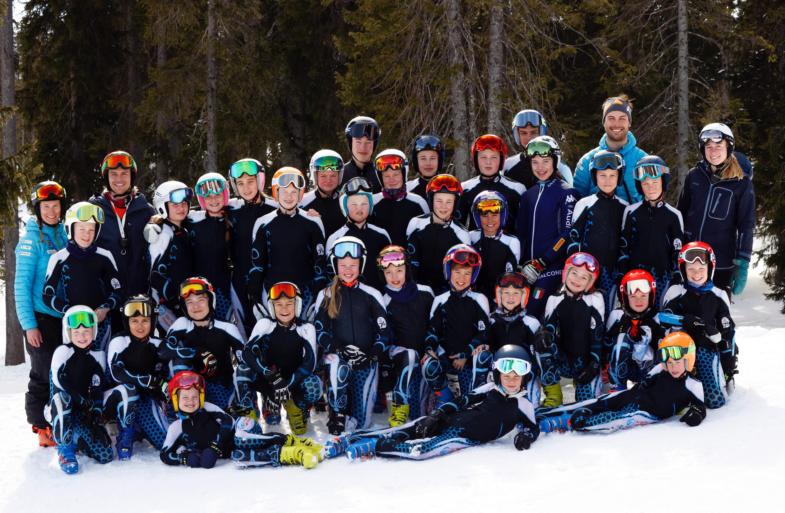 Minder echte sneeuw voor talenten Ski Racing Heemskerk: racers blij met wat ze nog wel kunnen