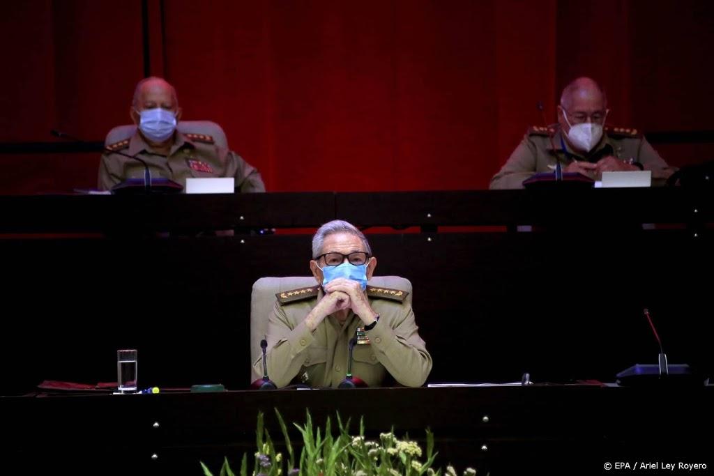 Raúl Castro bevestigt aftreden als leider Communistische Partij