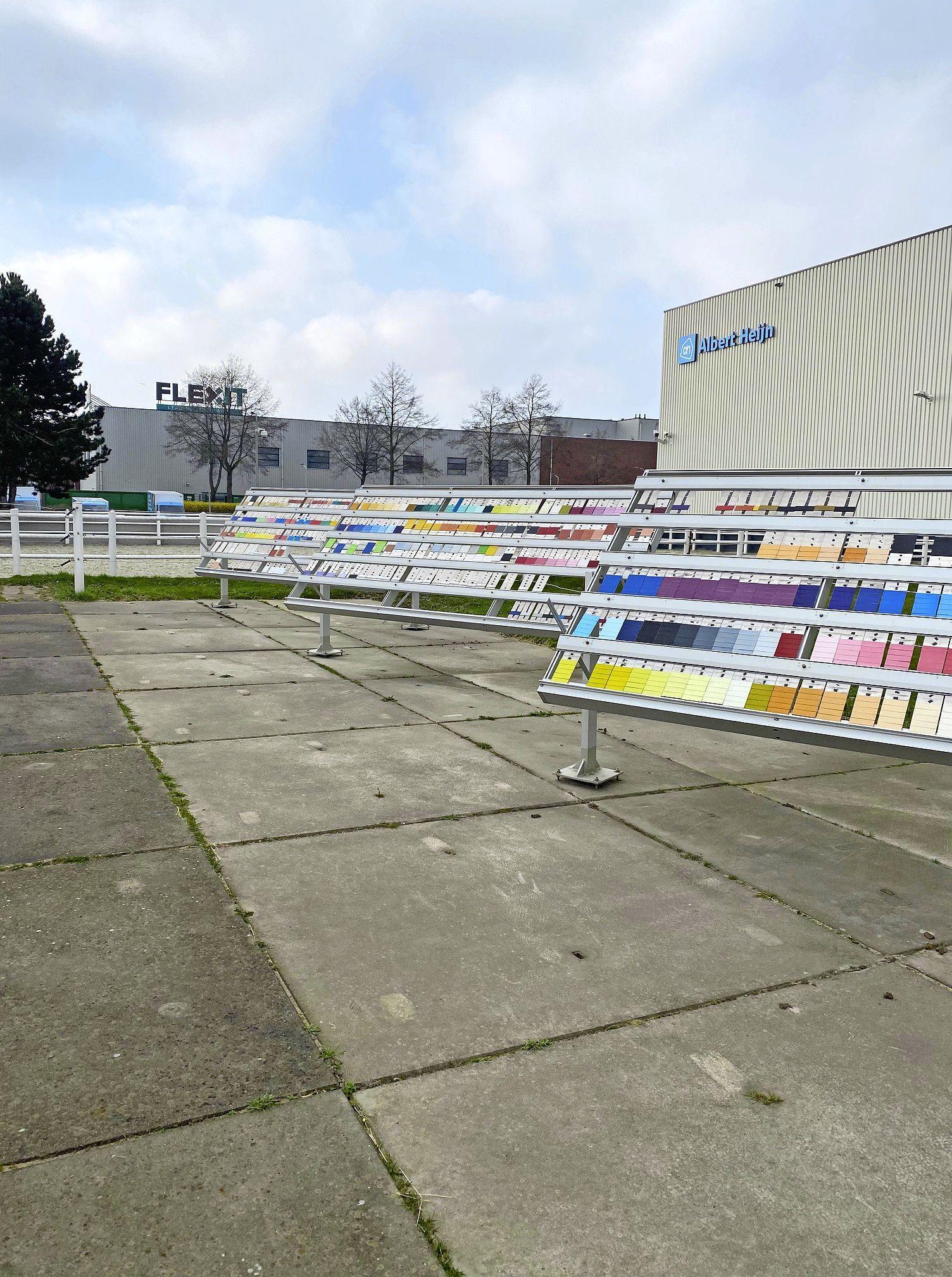 Mysterie opgelost: de functie van panelen op bedrijventerrein Roomburg