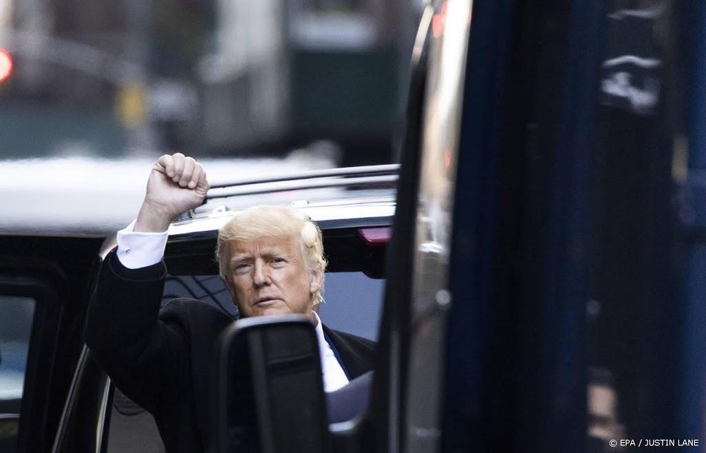 Trump heft 'communicatieplatform' op zijn website op