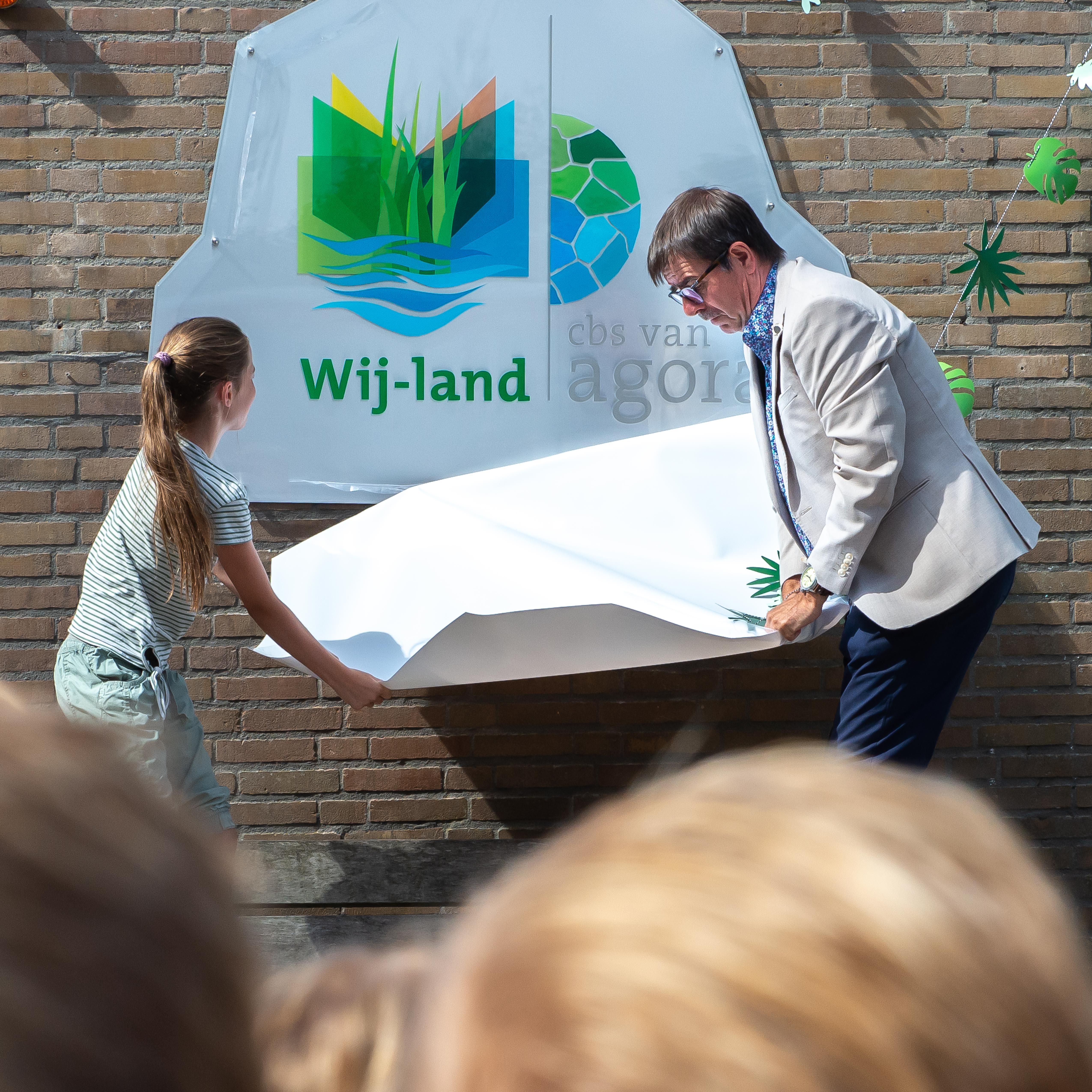 Basisschool De Rank in Westzaan en Assendelft heet nu Wij-land